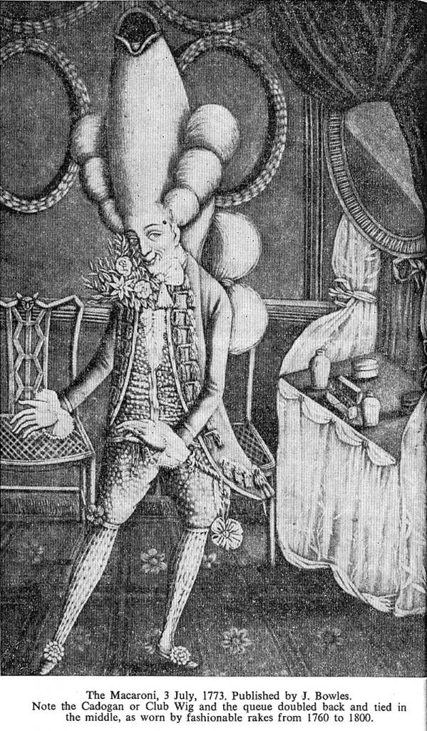 Macaroni 1773